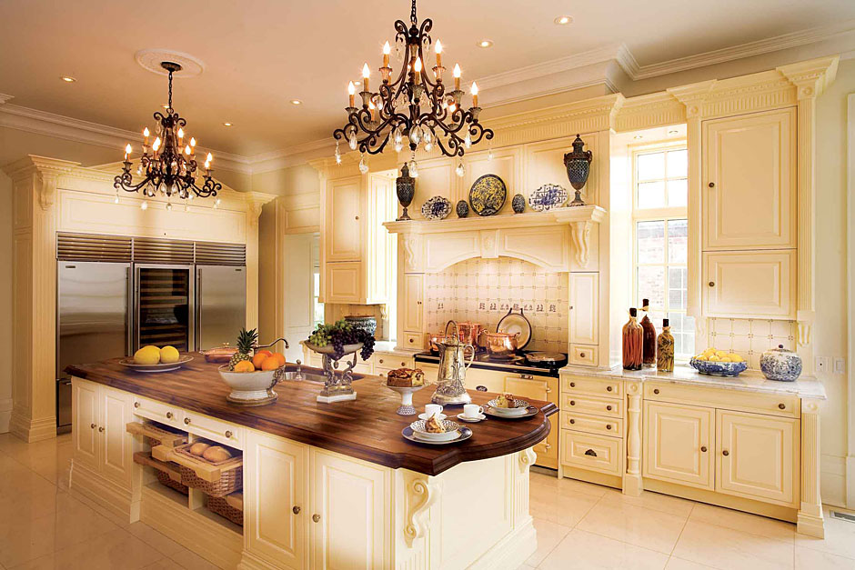 Traditional kitchens kitchen design studio for Classic style kitchen ideas
