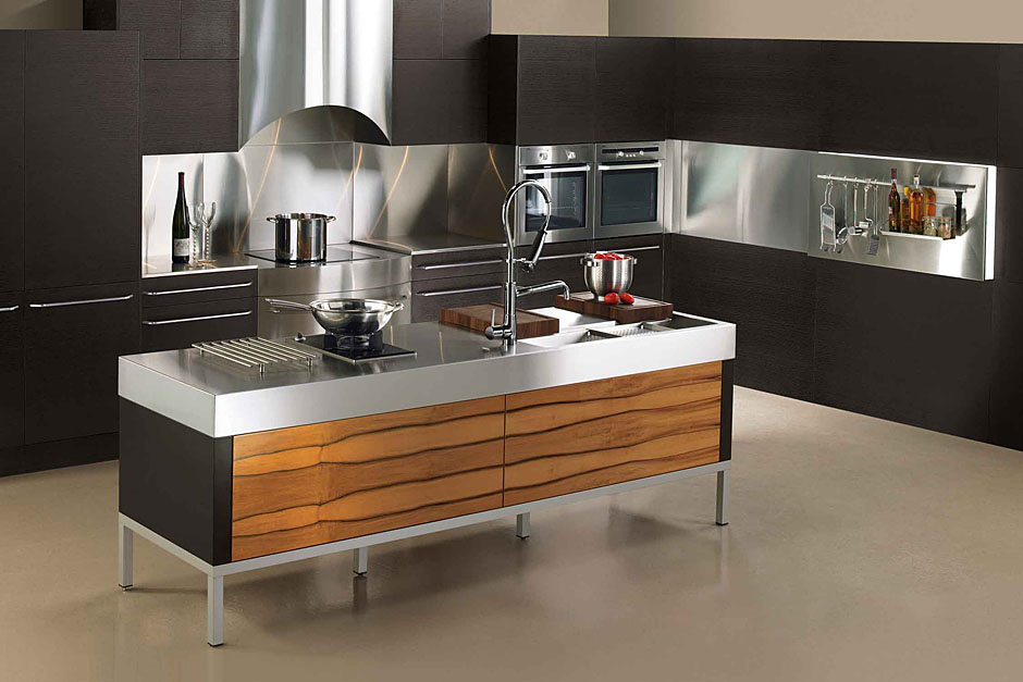 Modern kitchens kitchen design studio for Pictures of new kitchens designs