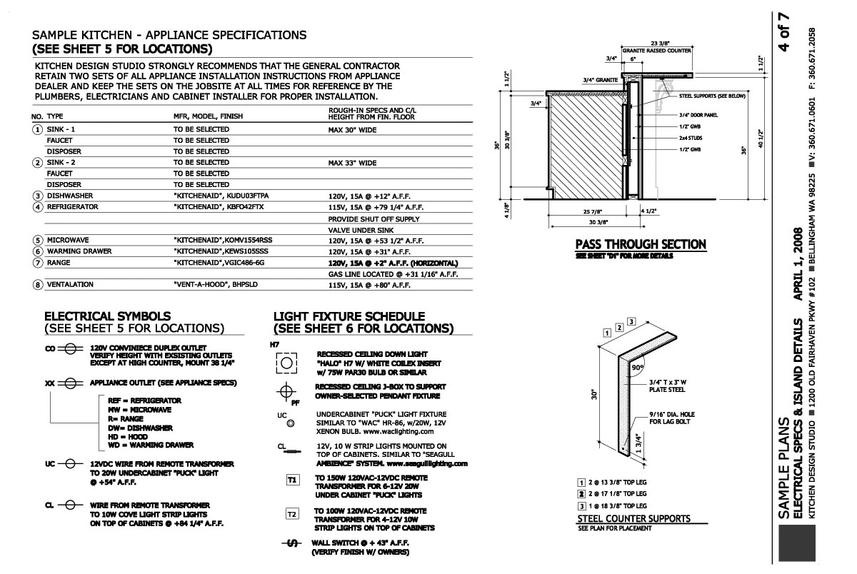 28 Construction Plans Kitchen Design Studio Neff