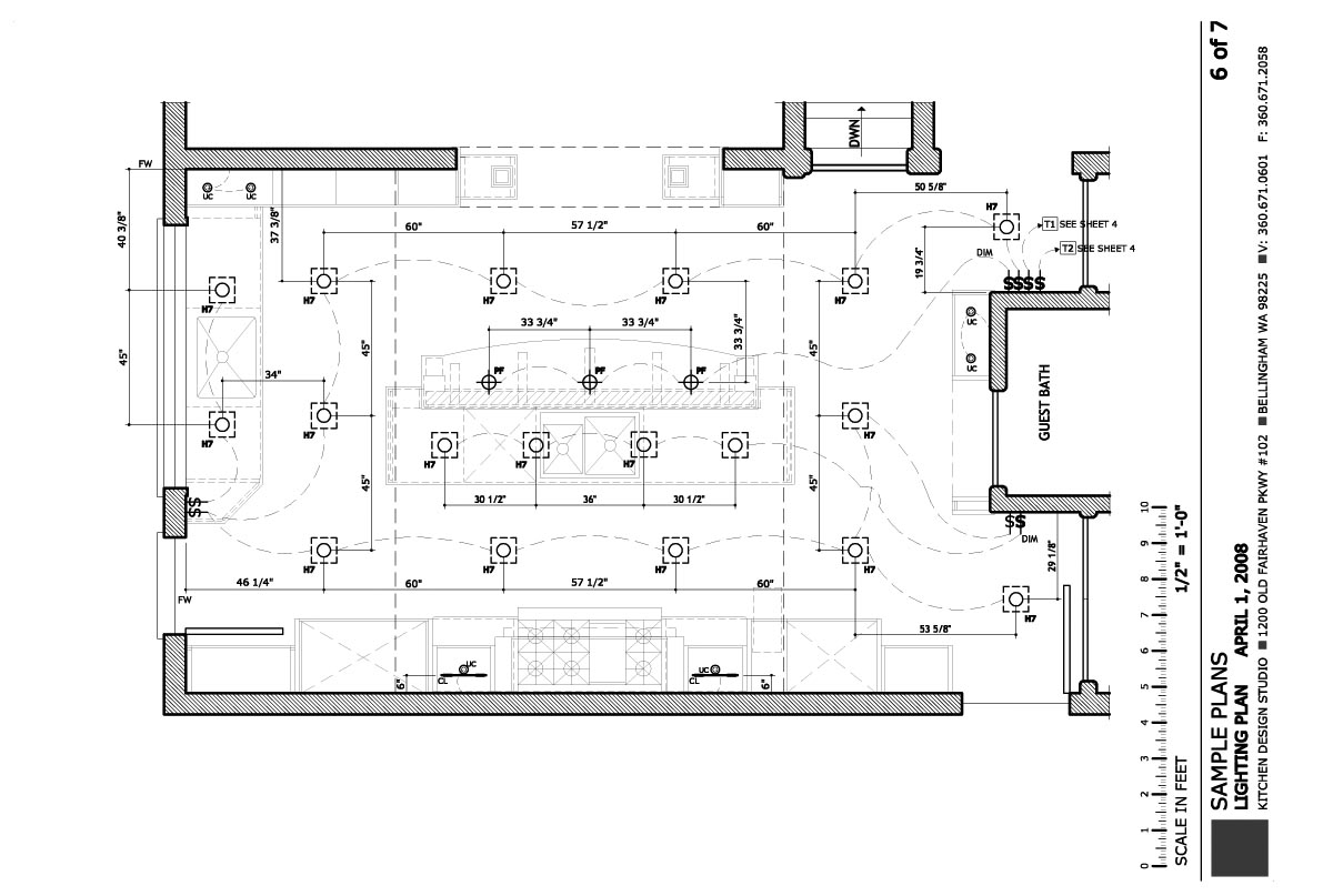 kitchen lighting plans. Lighting Plan Kitchen Plans